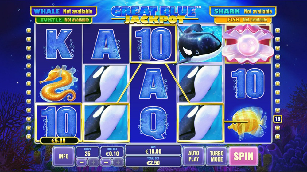 Slot Great Blue Jackpot