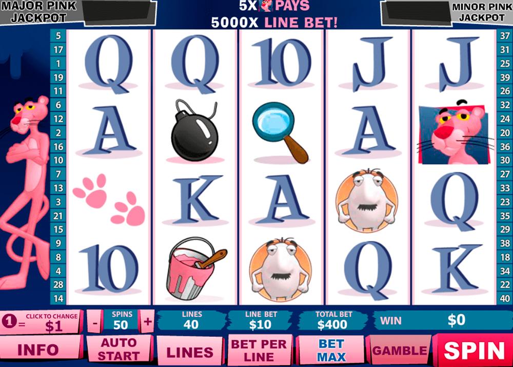Slot Pink Panther