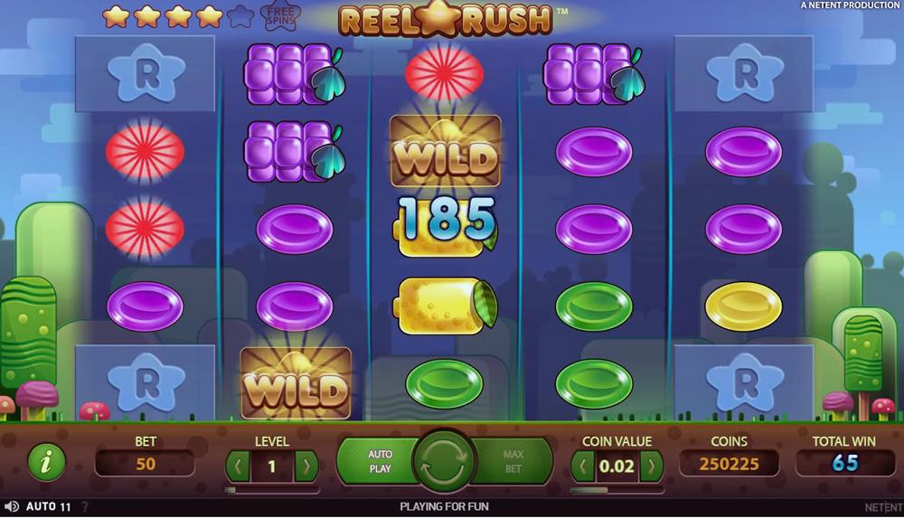Slot Reel Rush