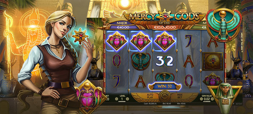 Mercy Of The Gods, Cel Mai Nou Slot Online De La NetEnt
