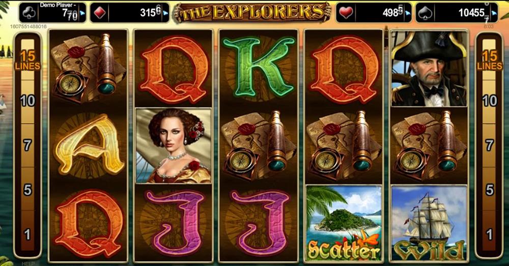 Slot The Explorers